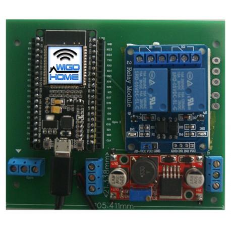 Module d'ouverture Wifi et 4G Rideau Magasin,Garage et Portail