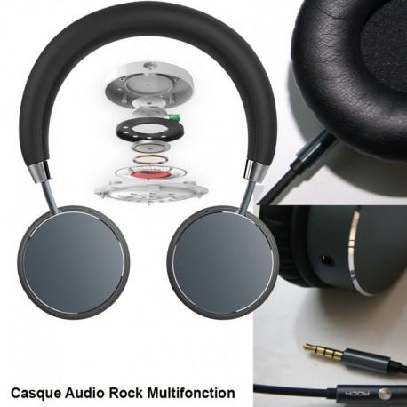 Casque Audio HD ROCK Multimedia