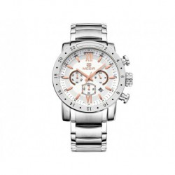 Montre Megir Casual Steel