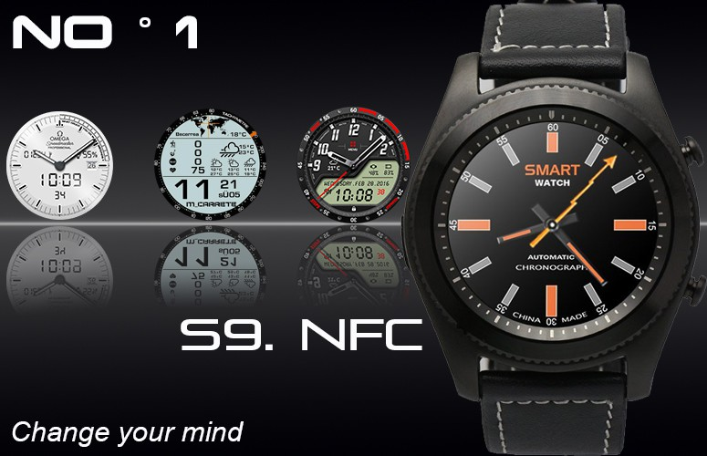 Smart Watch NO° 1 S9 NFC
