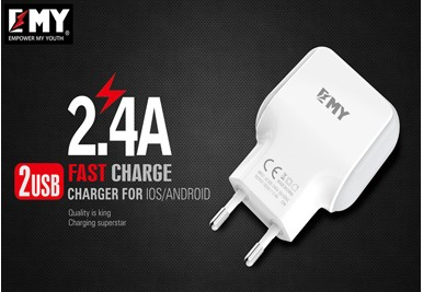Chargeur Quick Charge 2.4 A